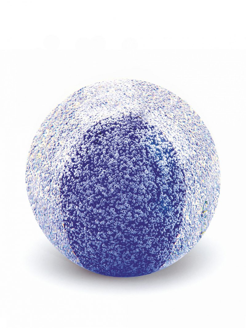 Stardust Line Bulb Transparant Donker Blauw A11STBTDB