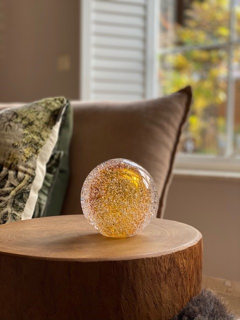Stardust Line Bulb Transparant Goud A11STBTG Sfeerfoto