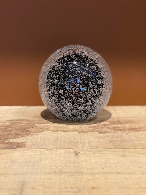 Stardust Line Bulb Transparant Zwart A11STBTBL Sfeerfoto