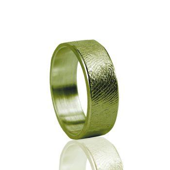 Vingerafdruk ring Goud 0101-00G