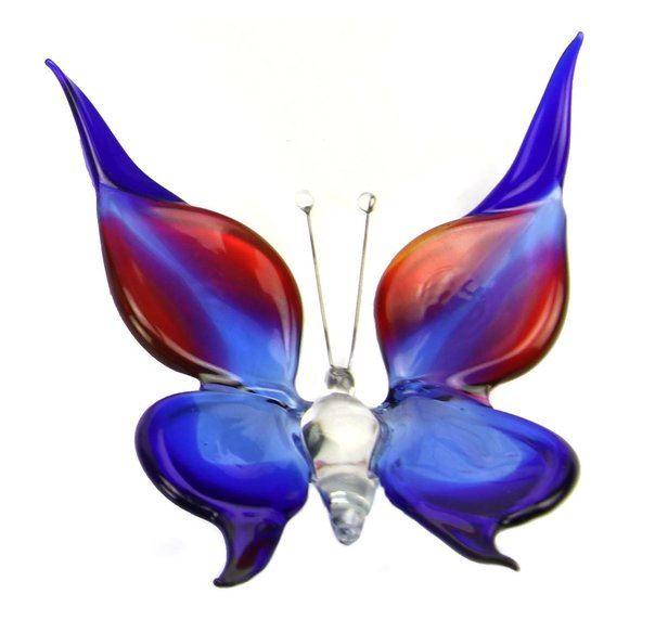 Accessoires Vlinder Large Blauw Roze B01BBR