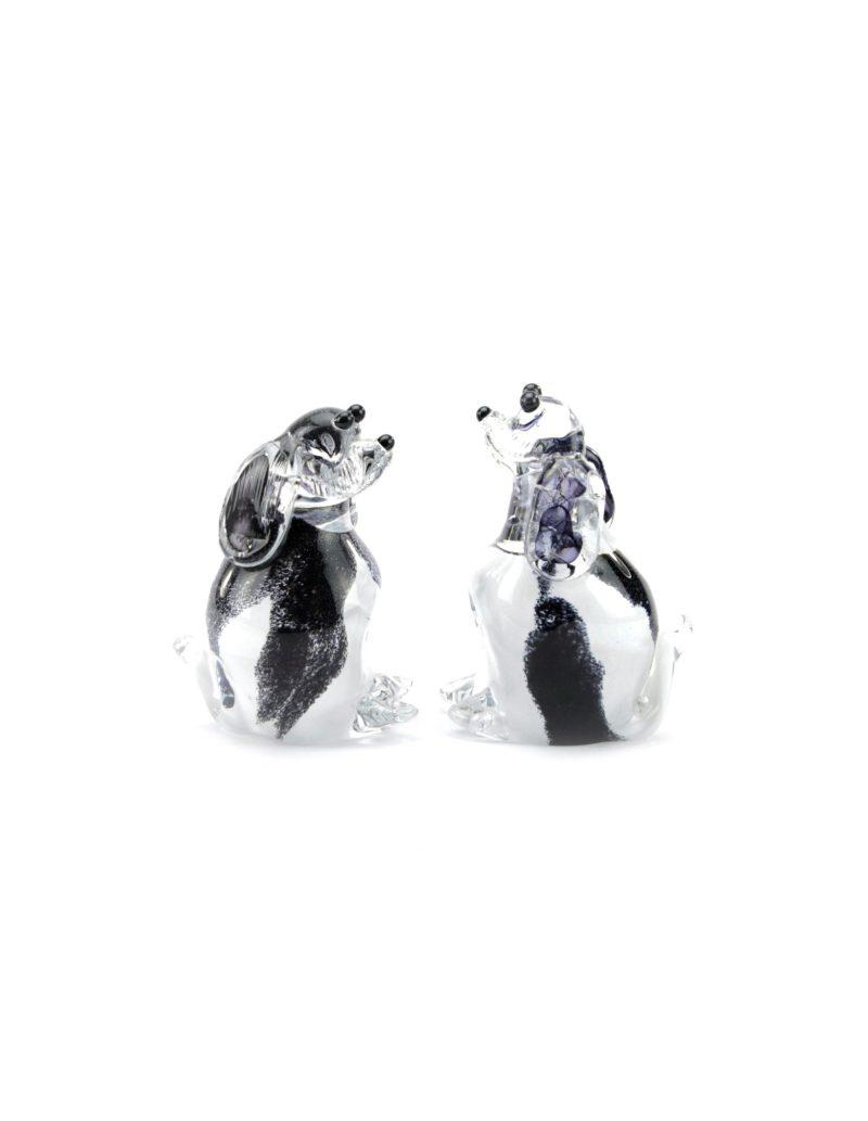 Memorie Line Hond duo Zwart Wit staand UO7BLWs