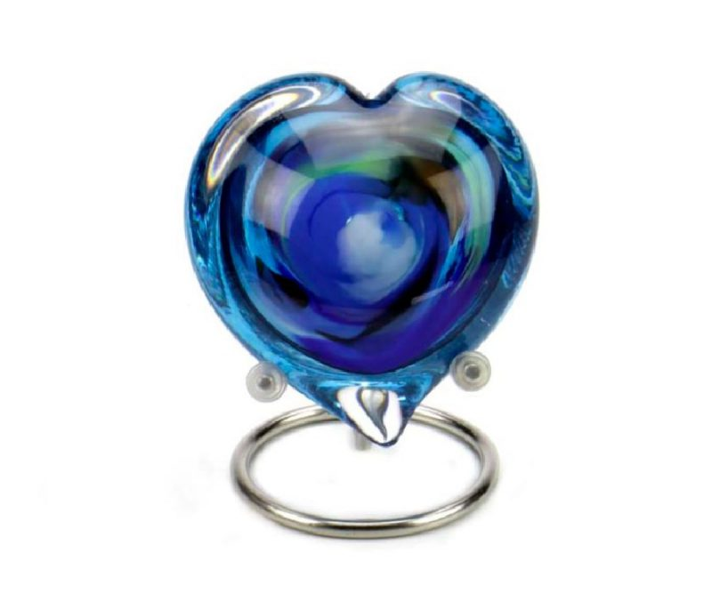 Memorie Line Pebble Hart Multi Color Blauw U36PHMB