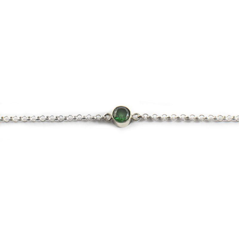 Armband met Open of Gesloten Askamer Smaragd 0934-00