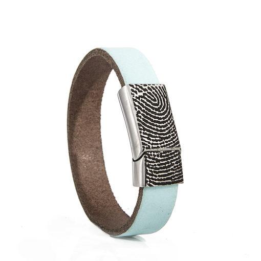 Armband met Vingerafdruk en Schuifslot 0301-227R14