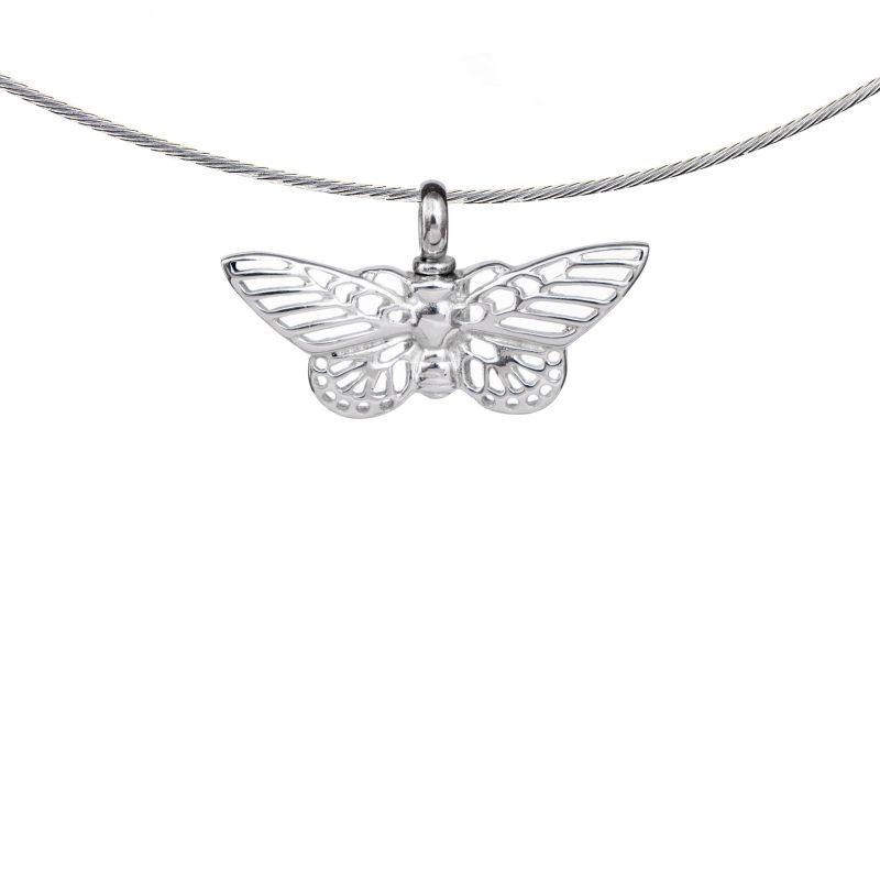 Vlinder Ashanger Sterling Zilver 08101-00