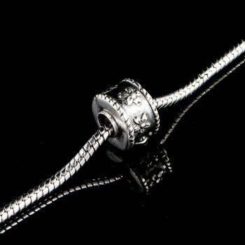 Pandora Bead Bloemetjes met Schuifdop Sterling Zilver 1011-00