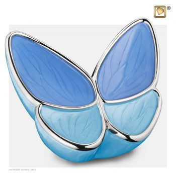 Wings of Hope Adult Urn Blue A1041