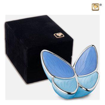 Wings of Hope Keepsake Urn Blue K1041